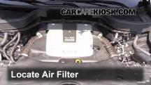 2013 Infiniti FX37 3.7L V6 Air Filter (Engine)