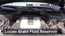 2013 Infiniti FX37 3.7L V6 Brake Fluid