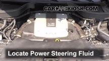 2013 Infiniti FX37 3.7L V6 Power Steering Fluid