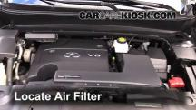 2013 Infiniti JX35 3.5L V6 Air Filter (Engine)