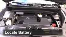 2013 Infiniti JX35 3.5L V6 Batería