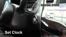 2013 Infiniti JX35 3.5L V6 Clock