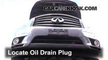 2013 Infiniti JX35 3.5L V6 Oil