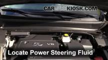2013 Infiniti JX35 3.5L V6 Power Steering Fluid