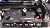 2013 Infiniti JX35 3.5L V6 Líquido de transmisión
