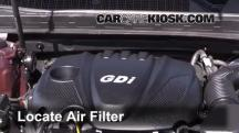 2013 Kia Optima LX 2.4L 4 Cyl. Filtro de aire (motor)
