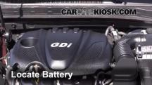 2013 Kia Optima LX 2.4L 4 Cyl. Battery