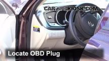 2013 Kia Optima LX 2.4L 4 Cyl. Compruebe la luz del motor