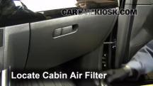 2013 Mazda CX-5 Sport 2.0L 4 Cyl. Filtro de aire (interior)