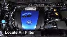 2013 Mazda CX-5 Sport 2.0L 4 Cyl. Filtro de aire (motor)