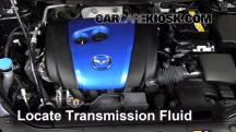 2013 Mazda CX-5 Sport 2.0L 4 Cyl. Transmission Fluid