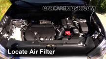 2013 Mitsubishi Outlander Sport ES 2.0L 4 Cyl. Air Filter (Engine)