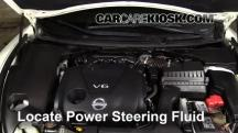 2013 Nissan Maxima SV 3.5L V6 Power Steering Fluid