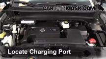 2013 Nissan Pathfinder SV 3.5L V6 Aire Acondicionado