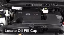 2013 Nissan Pathfinder SV 3.5L V6 Aceite