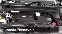 2013 Nissan Pathfinder SV 3.5L V6 Líquido limpiaparabrisas