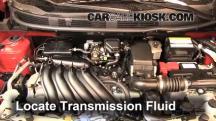 2013 Nissan Versa 1.6 SL 1.6L 4 Cyl. Transmission Fluid
