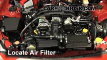 2013 Scion FR-S 2.0L 4 Cyl. Air Filter (Engine)