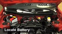 2013 Scion FR-S 2.0L 4 Cyl. Battery