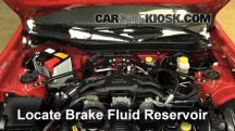 2013 Scion FR-S 2.0L 4 Cyl. Brake Fluid