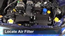 2013 Subaru BRZ Limited 2.0L 4 Cyl. Air Filter (Engine)