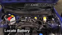 2013 Subaru BRZ Limited 2.0L 4 Cyl. Battery
