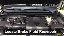 2013 Toyota 4Runner Limited 4.0L V6 Brake Fluid