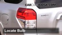 2013 Toyota 4Runner Limited 4.0L V6 Luces