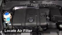 2013 Volkswagen Beetle 2.5L 5 Cyl. Convertible (2 Door) Filtro de aire (motor)