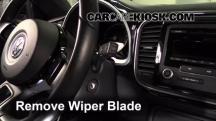 2013 Volkswagen Beetle 2.5L 5 Cyl. Convertible (2 Door) Escobillas de limpiaparabrisas delantero