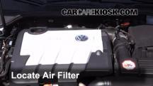 2013 Volkswagen Golf TDI 2.0L 4 Cyl. Turbo Diesel Hatchback (4 Door) Filtro de aire (motor)