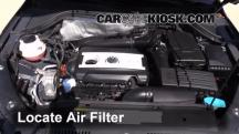 2013 Volkswagen Tiguan S 2.0L 4 Cyl. Turbo Air Filter (Engine)