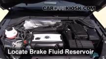 2013 Volkswagen Tiguan S 2.0L 4 Cyl. Turbo Brake Fluid
