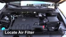 2014 Acura RDX 3.5L V6 Air Filter (Engine)