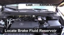 2014 Acura RDX 3.5L V6 Brake Fluid