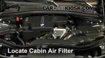 2014 BMW X1 xDrive28i 2.0L 4 Cyl. Turbo Filtro de aire (interior)