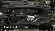 2014 BMW X1 xDrive28i 2.0L 4 Cyl. Turbo Filtro de aire (motor)