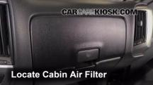 2014 Chevrolet Silverado 1500 LT 5.3L V8 FlexFuel Crew Cab Pickup Air Filter (Cabin)