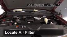 2014 Chevrolet Silverado 1500 LT 5.3L V8 FlexFuel Crew Cab Pickup Air Filter (Engine)