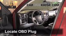 2014 Chevrolet Silverado 1500 LT 5.3L V8 FlexFuel Crew Cab Pickup Compruebe la luz del motor