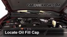 2014 Chevrolet Silverado 1500 LT 5.3L V8 FlexFuel Crew Cab Pickup Aceite