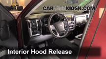 2014 Chevrolet Silverado 1500 LT 5.3L V8 FlexFuel Crew Cab Pickup Capó