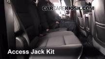 2014 Chevrolet Silverado 1500 LT 5.3L V8 FlexFuel Crew Cab Pickup Jack Up Car
