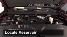 2014 Chevrolet Silverado 1500 LT 5.3L V8 FlexFuel Crew Cab Pickup Windshield Washer Fluid