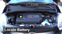 2014 Fiat 500L 1.4L 4 Cyl. Turbo Battery