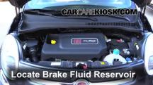 2014 Fiat 500L 1.4L 4 Cyl. Turbo Brake Fluid