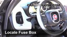 2014 Fiat 500L 1.4L 4 Cyl. Turbo Fusible (interior)