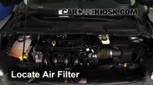 2014 Ford Escape S 2.5L 4 Cyl. Filtro de aire (motor)