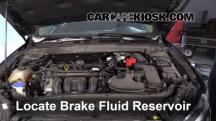 2014 Ford Fusion SE 2.5L 4 Cyl. Brake Fluid