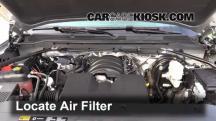 2014 GMC Sierra 1500 SLE 4.3L V6 FlexFuel Crew Cab Pickup Filtro de aire (motor)